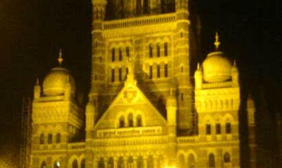 Indian Cities - Mumbai - The Greater Mumbai Municipal Corporation Building, online Food home delivery in India