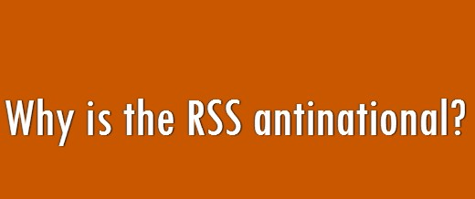 Quora Question Why is the RSS Antinational
