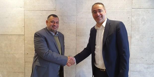 Welcome Jordan! Добро Пожаловать В Иорданию! Mohammad Najjar und Ioannis Kallias - CCS Ltd. wird TÜV AUSTRIA Jordan! (C) TÜV AUSTRIA Group
