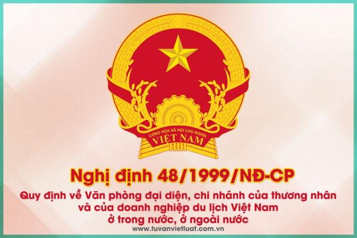 Nghị định số 48/1999/NĐ-CP ngày 08/7/1999