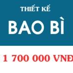 Bảng giá dịch vụ thiết kế thương hiệu - Bao bì tại Việt Luật