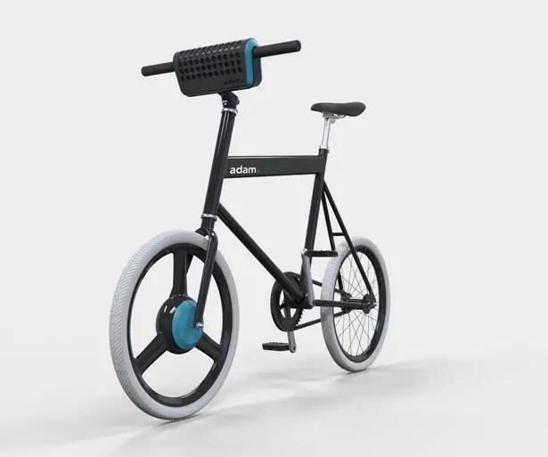 Adam Student e-Bike by John Kock, Niels Caris, Coline Jarry, and Stijn Kroeze