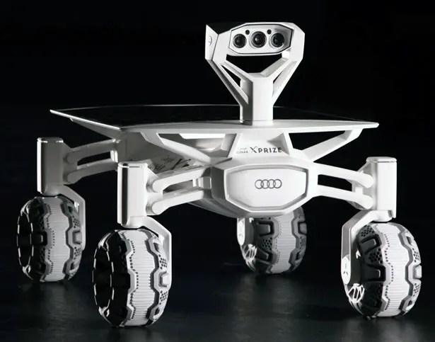 Audi Lunar Quattro Moon Rover for Google Lunar XPRIZE