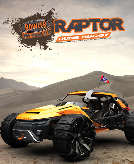 bowler raptor vehicle