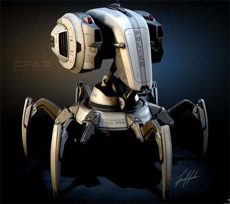 c.r.a.b. robot