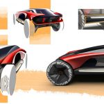 "Consol-e Concept Car بواسطة Kenny Gan لتحدي تصميم SAIC ""hspace ="" 5"