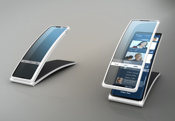 Hello Tomorrow phone concept by Ronny Sauer