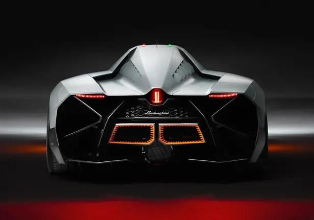Lamborghini Egoista Concept Car HOMAGE FOR LAMBORGHINI'S 50TH ANNIVERSARY