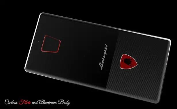 هاتف لامبورغيني ميست الاختباري من تصميم ملادين ميليتش