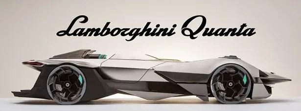 Lamborghini Quanta (LP 1200-4) Studio di design di Bruno Gallardo
