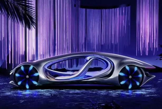 مركبة مفهوم مستقبلية من مرسيدس-بنز VISION AVTR