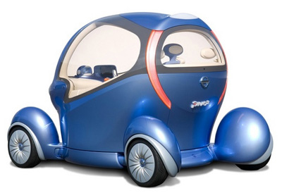 nissan pivo 2 concept car