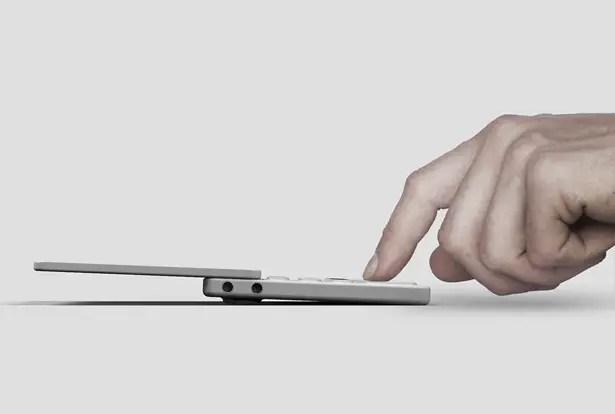 هاتف ذكي OP-S مع مُركِّب مدمج بواسطة Gris Design