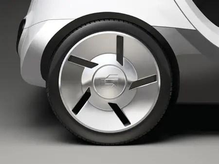 peapod electric car