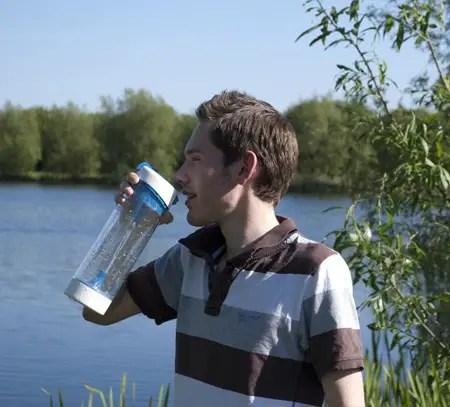 Pure UV Sterilisation Water Bottle