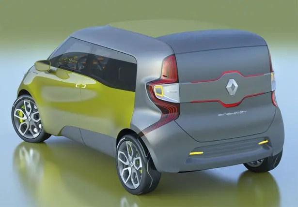 سيارة رينو فريندزي الاختبارية