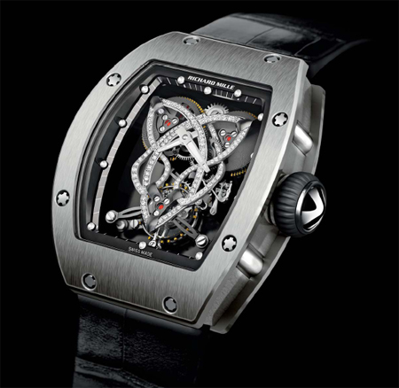 richard mille rm019 celtic knot watch