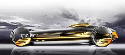 المستقبل سيارة مرسيدس بنز silverflow