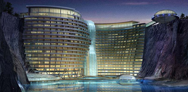 Stunning SongJiang Hotel Project Takes Advantage Of