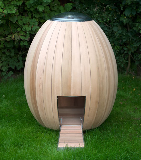 The Nogg Modern Chicken Coop