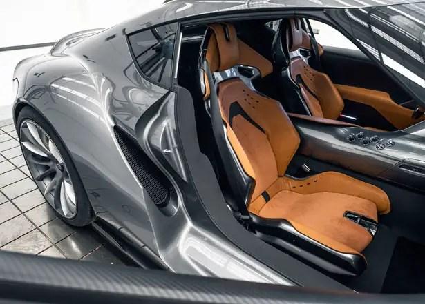 مفهوم سيارة تويوتا FT-1 الرياضية
