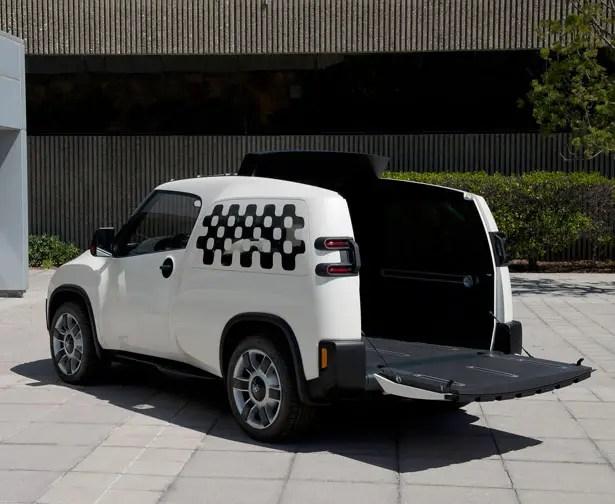 سيارة مفهوم تويوتا U2 Urban Utility