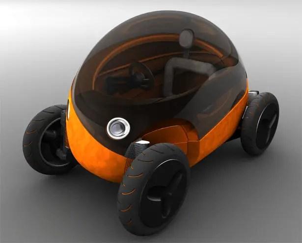 μcar Electric Vehicle Typology by Lino Vital García-Verdugo