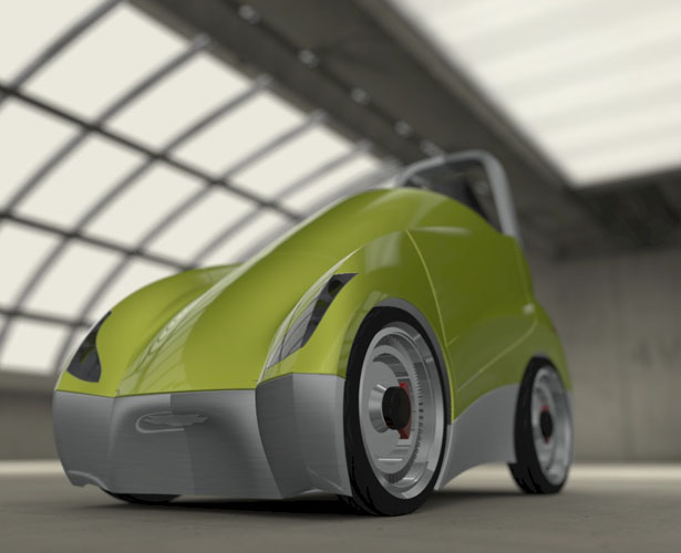 Uno Personal Electric Vehicle بواسطة Angel Sanches Vargas