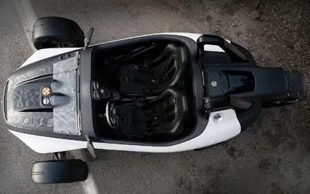 concetto di volkswagen gx3 reverse trike