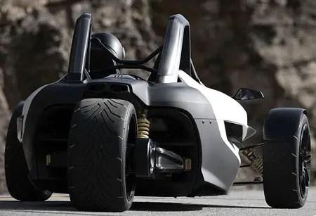 concetto di trike di volkswagen gx3