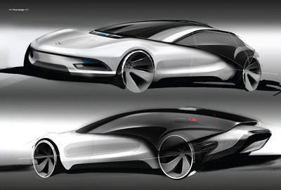 Volkswagen Viseo concept car