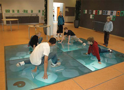 Wisdom Well Interactive Floor Offers A Fun Way to Learn   Tuvie wisdom well interactive floor