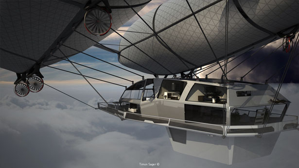 Wolke7 Future Flying House by Timon Sager