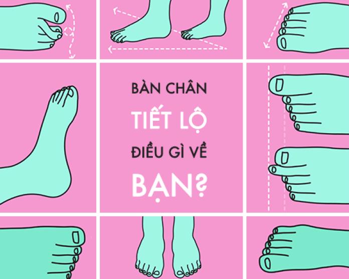 Tướng số bàn chân, Bàn chân nói lên điều gì?