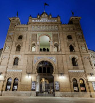 Gigapixel esférica de la mítica plaza de toros de las ventas en Madrid.