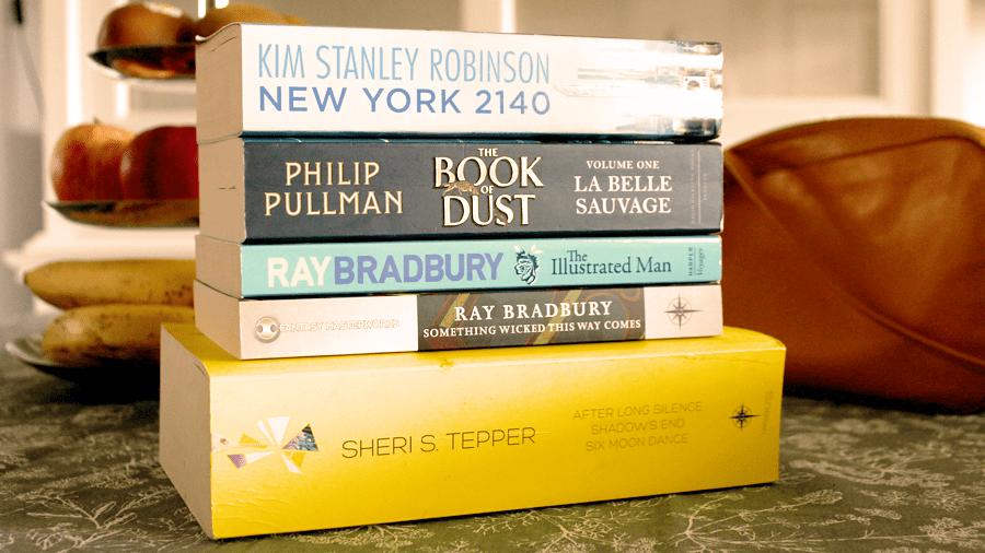 Boekenstapel, nog te lezen boeken