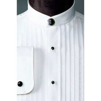 Mandarin Collar Tuxedo Shirts