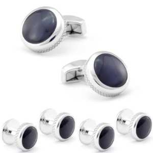 Black Cuff-links And Studs