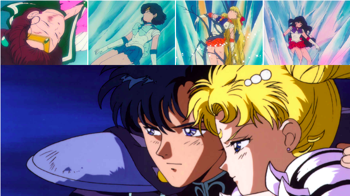 The Tragic Passing of the Sailor Soldiers