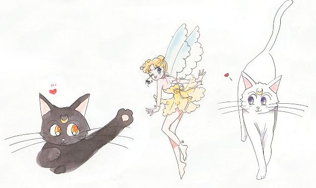 Why Was Diana the Moon Fairy Cut From Sailor Moon?