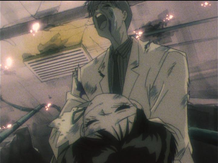 Hotaru Taken by a Tragic Explosion