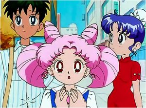 ChibiUsa doesn't technically wear a uniform...