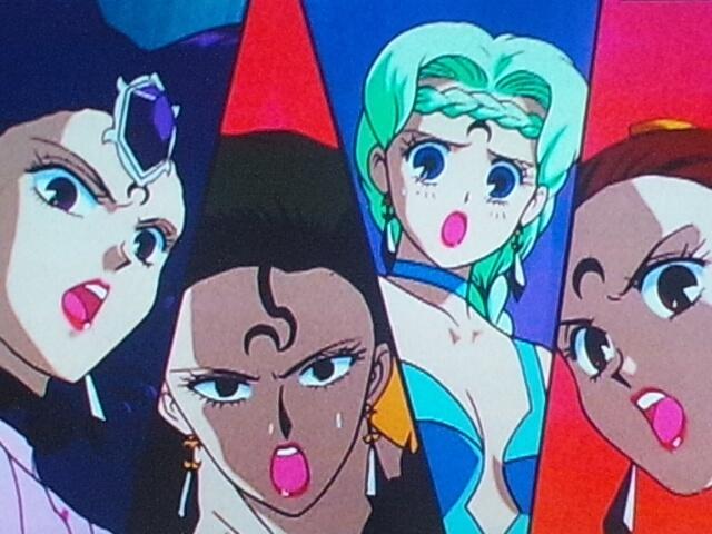 The Four Ayakashi / Specter / Phantom / Negamoon Sisters