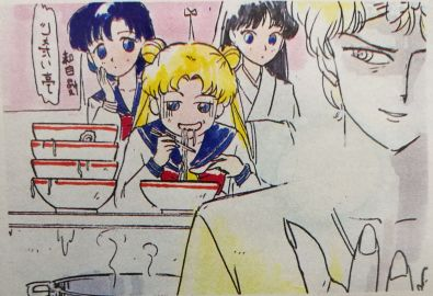 Pretty sure Usagi could beat this food challenge