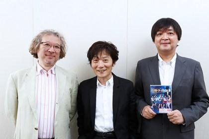 Fumio Osano (editor of Sailor Moon), far right