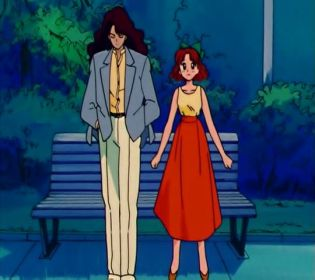 Just meeting your underage girlfriend alone, in a park, at night, alone. Nothing creepy here.