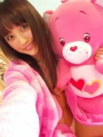 Ayaka Komatsu loving on Care Bears (2009)