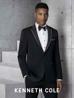 "KENNETH COLE BLACK ""KENSINGTON"" TUXEDO"