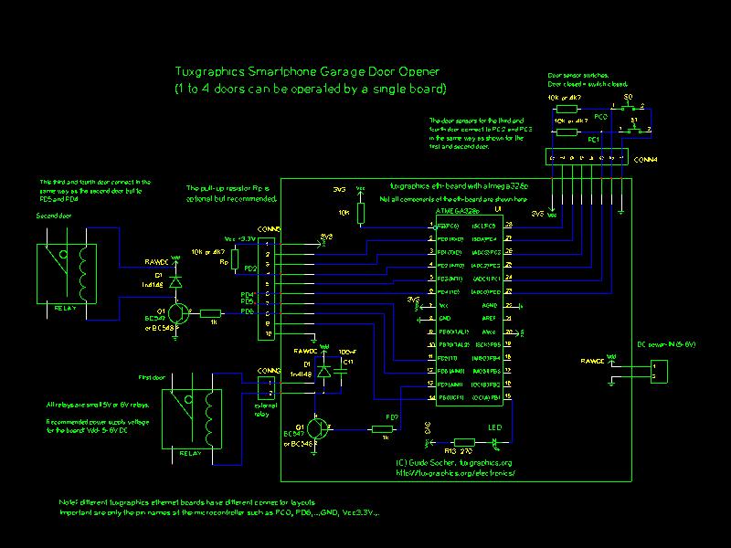 connections garage door opener?resize=665%2C499 craftsman 1 3 hp garage door opener wiring diagram wiring diagram  at webbmarketing.co