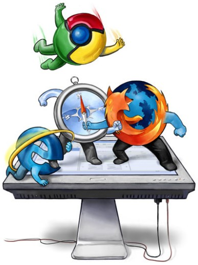 firefox4.0vsgooglechrome